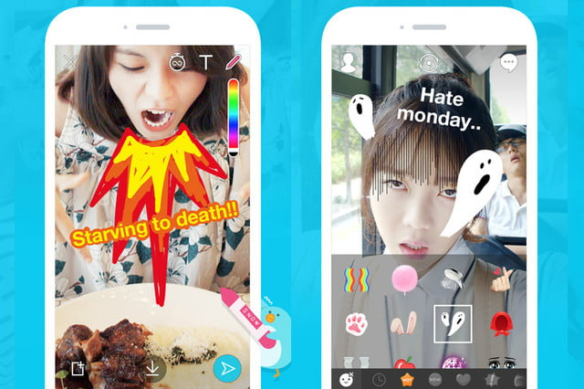 snapchat clone snow asia android app