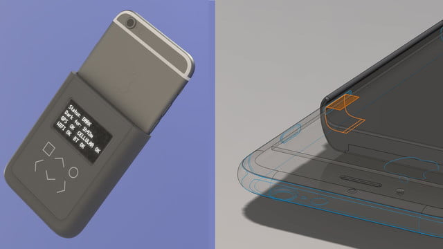 snowden iphone security tool battery case