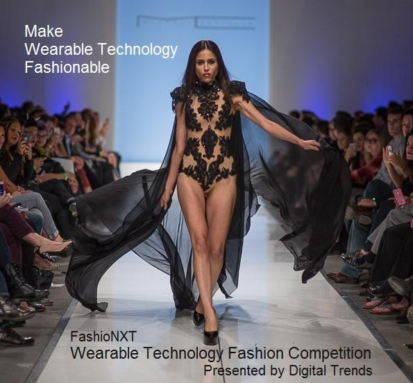 making wearables bearable introducing wearable tech fashion competition social media  make it fashionable