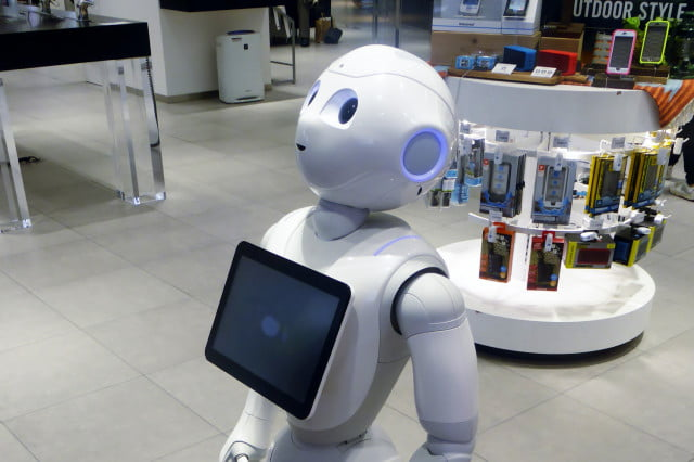 robot human jobs softbank pepper