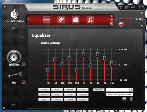 Cooler Master Sirus software-ss3