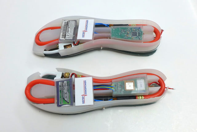 shoe charge soles bottom view