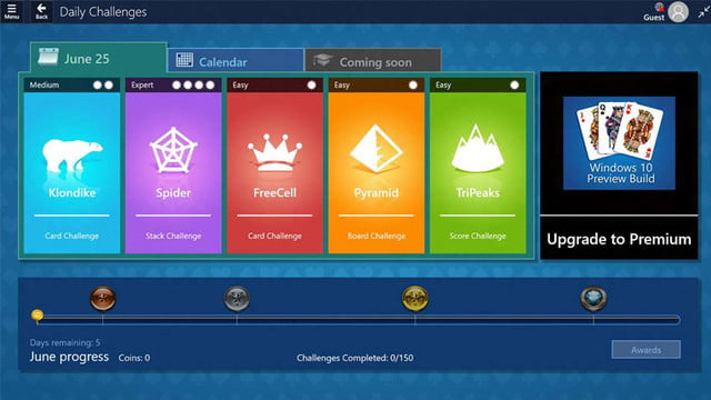 microsoft solitaire collection ios android