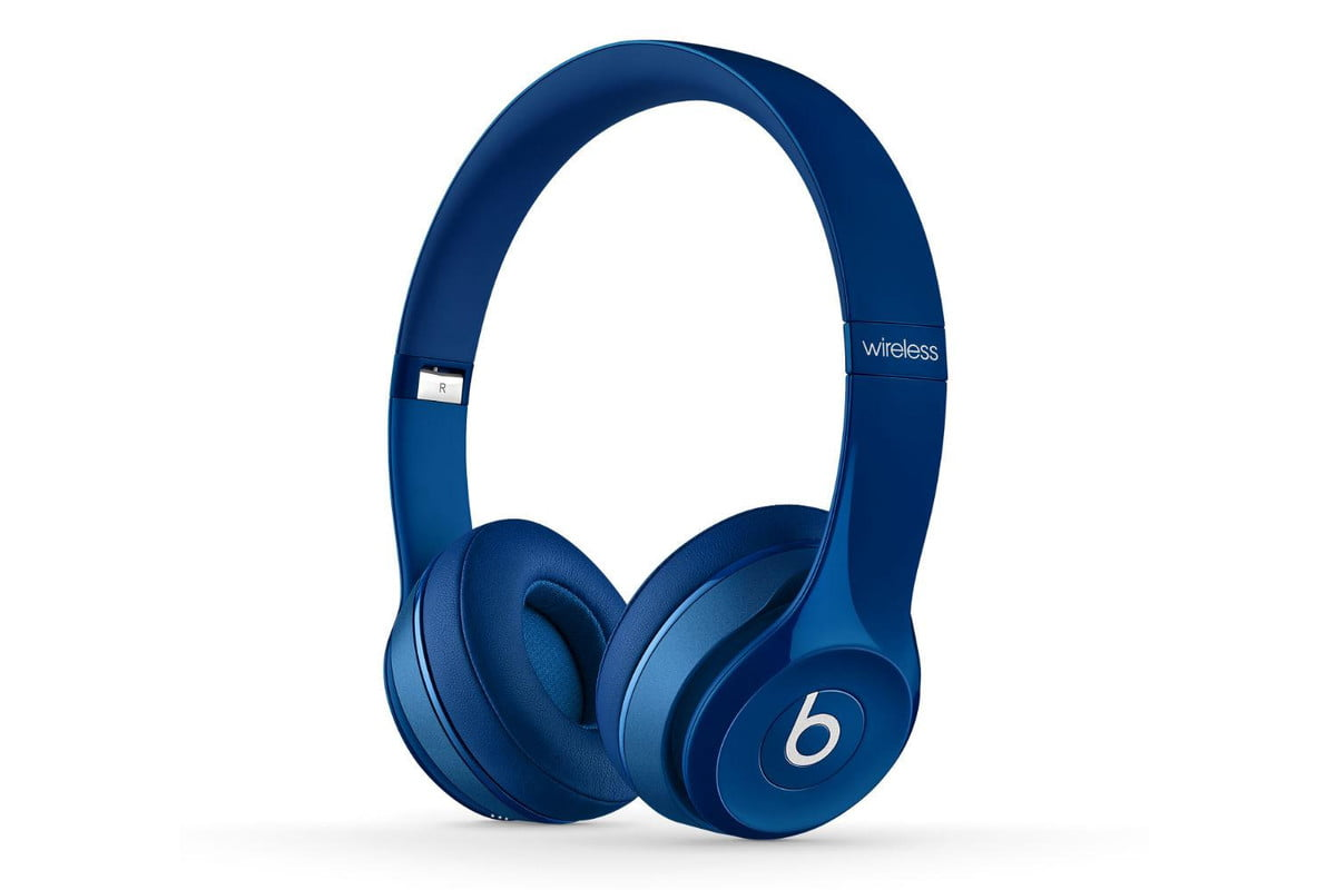 apple repeats back to school beats promotion solo  wireless blue quarter