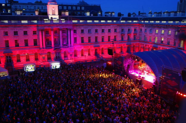 songkick detour outdoor shows at London's beautiful Somerset House