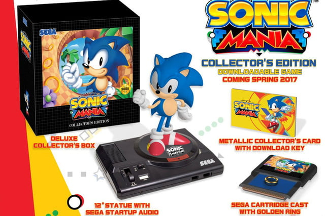 sonic the hedgehog mania collectors edition