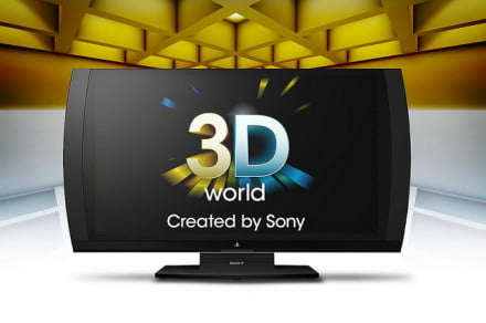 sony 3d display