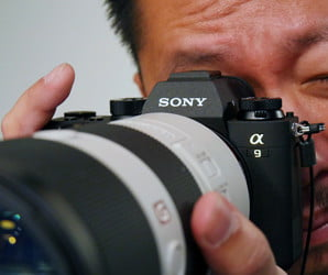Go ahead, blink. Sony's outrageously fast A9 won't miss a millisecond