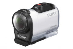 sony action cam mini hdr az  review camera press