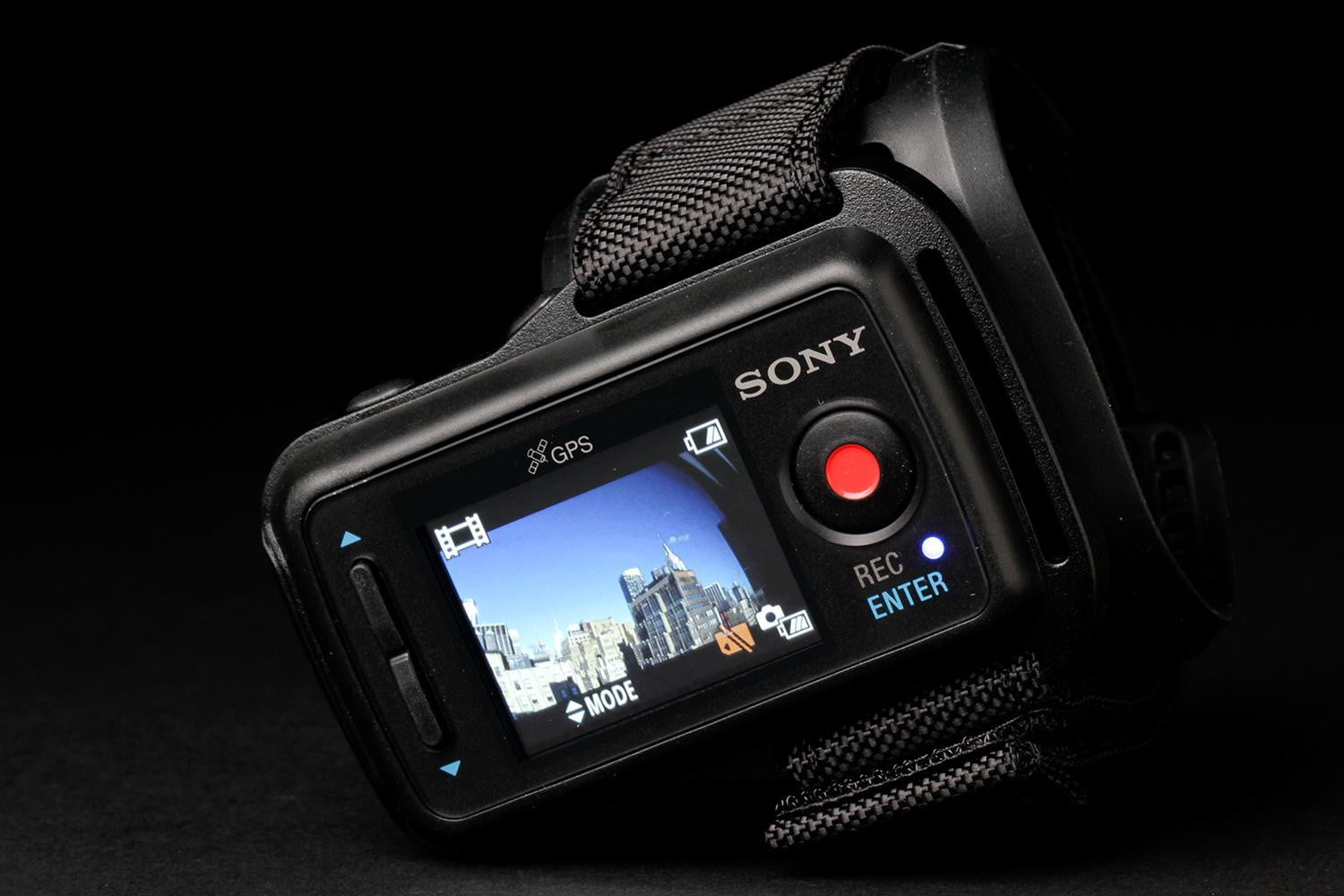 how to hold sony action cam