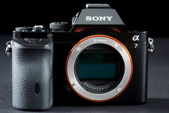 sony alpha a  review lens off
