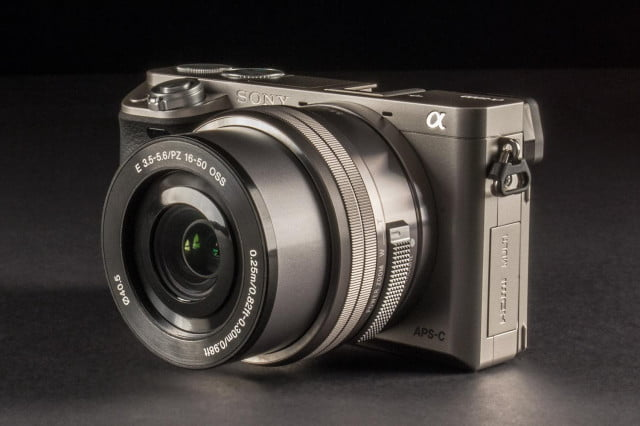 Sony Alpha a6000 front left