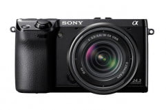 sony alpha nex  review front