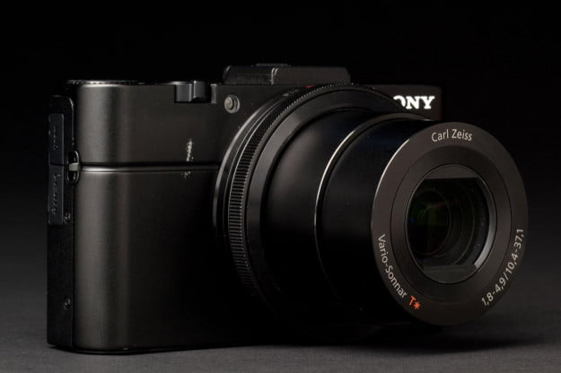 Sony Cyber shot RX100 II front zoom angle