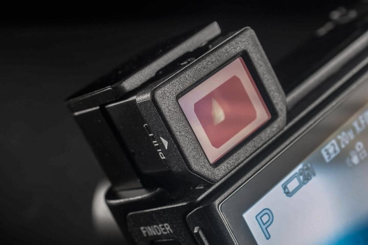 sony rx  iii review cybershot mark viewfinder screen