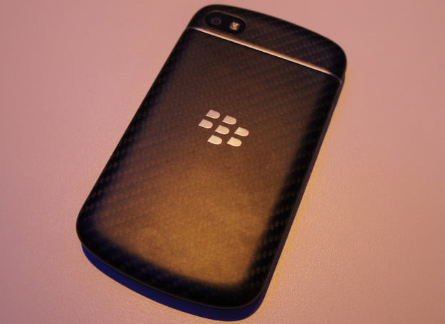 BlackBerry Q10 - back