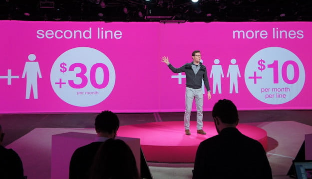 T-Mobile Value Plans add a line