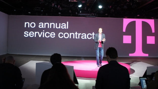 T-Mobile no contracts