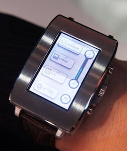 Toshiba Smart Watch Concept