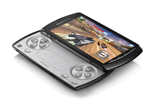 Sony Ericsson Xperia Play front angle view