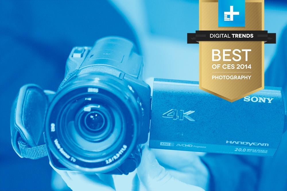 Sony FDR AX100 best of ces 2014