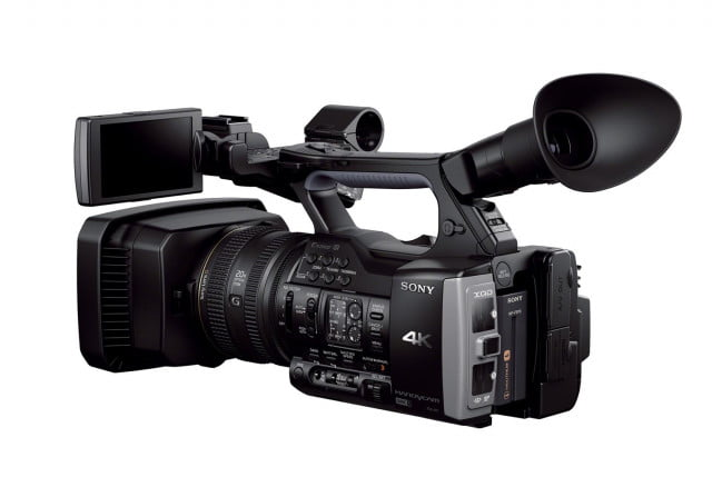 sony gives  k content creation to the people with new fdr ax handycam camcorder