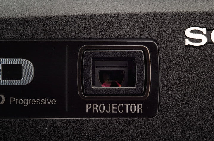 sony handycam hdr pj  v review projector macro