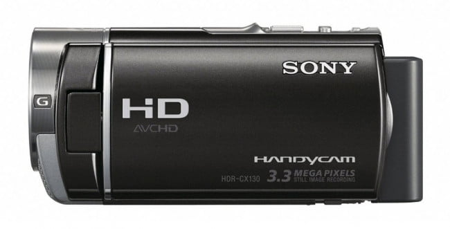 Sony HDR-CX130 side black