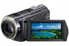 sony hdr cx  v review g