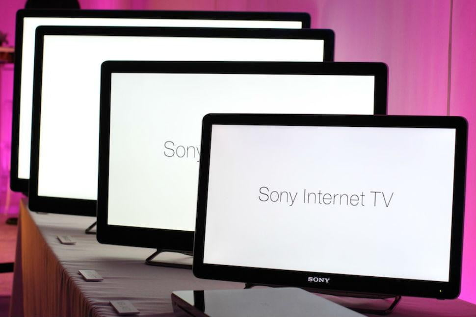 sony reportedly makes deal with viacom for internet based tv service  x
