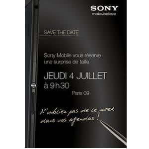 Sony July 4 Event Invitation