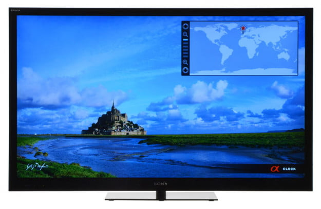 Sony KDL-55NX720 Review screen