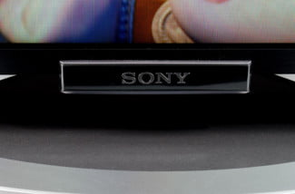 Sony KDL 55W802A review front bottom angle