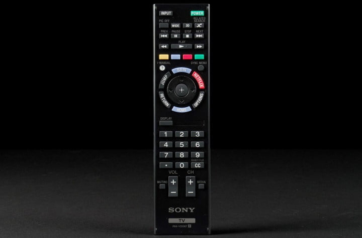 sony vs samsung whose tv belongs in your living room kdl  w a review remote x