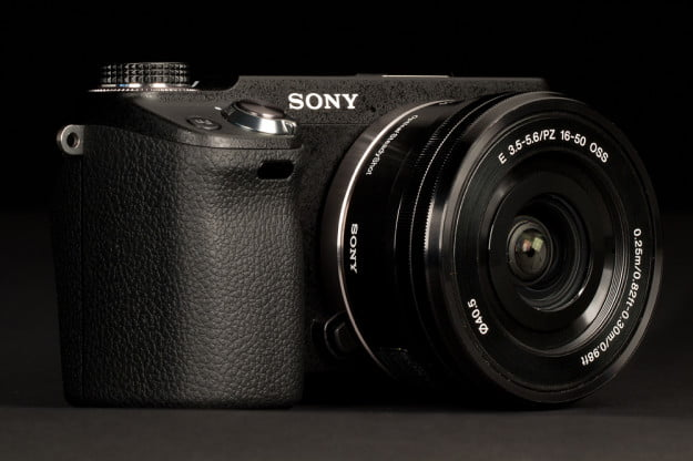 Sony NEX 6 Review front angle