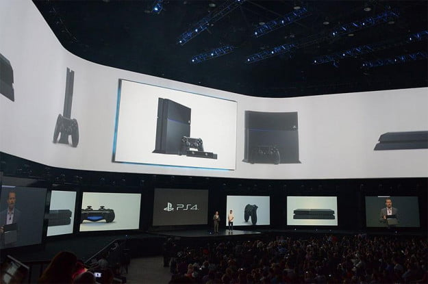 sony playstation 4 press conference