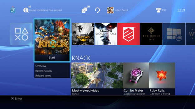 Sony PlayStation 4 screenshot 4