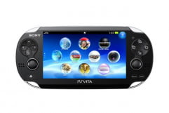 sony playstation vita review screen front