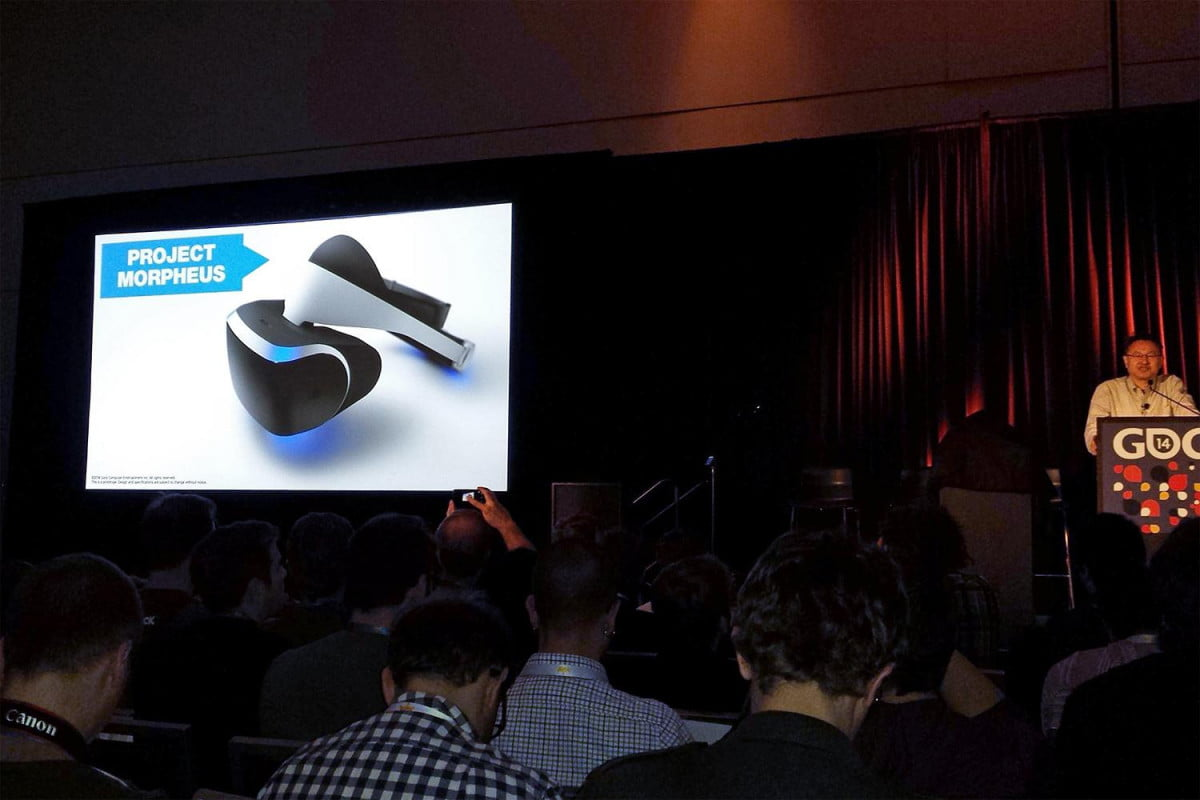 sony unveils virtual reality headset ps  project morpheus
