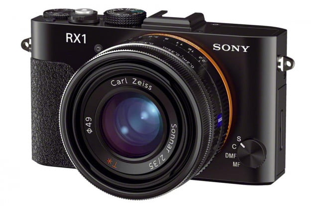 Sony RX1 mirrorless four thirds camera