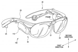 Sony Smart Glasses patent image