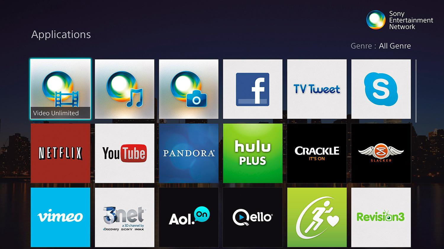 how to use sony smart tv