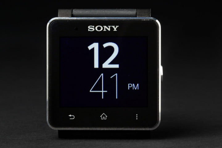 sony smartwatch  review front