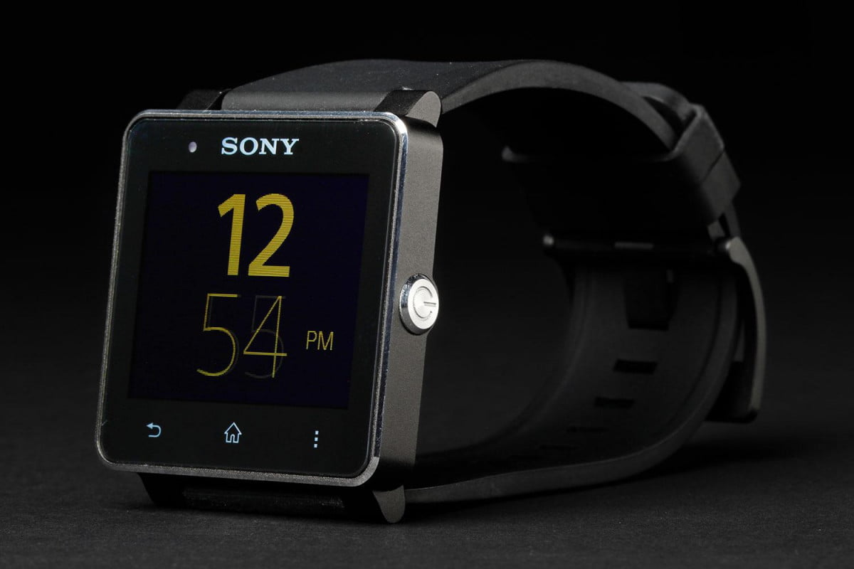 the smartwatch wont appear on christmas lists say researchers sony  front right