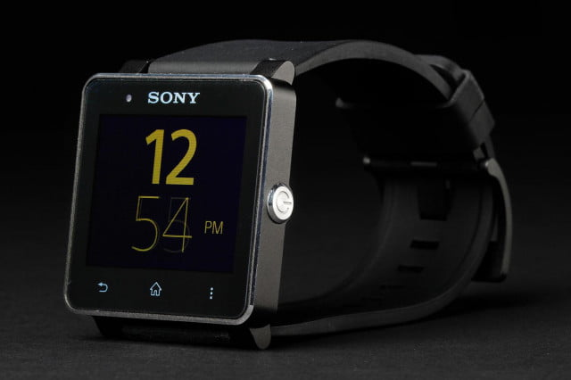 sony smartwatch  news front right