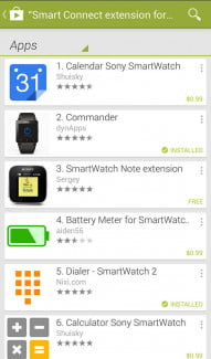 Sony SmartWatch 2 Screenshot smart connect 3