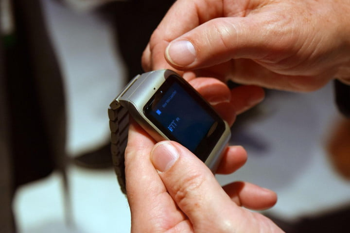 sony stainless steel smartwatch