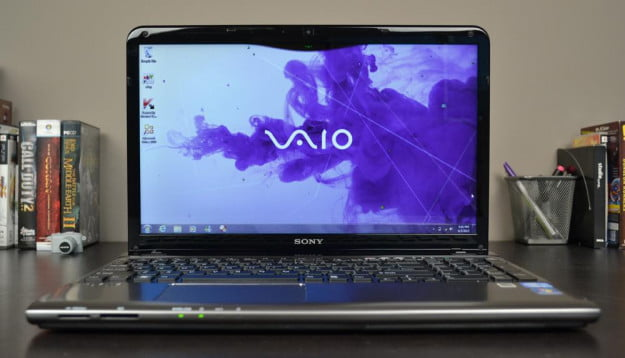 Sony Vaio E Series Review laptop display front windows notebook