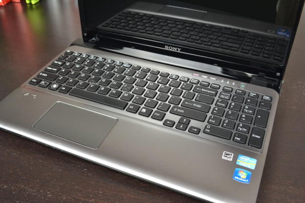 Sony Vaio E Series Review laptop keyboard touchpad windows notebook