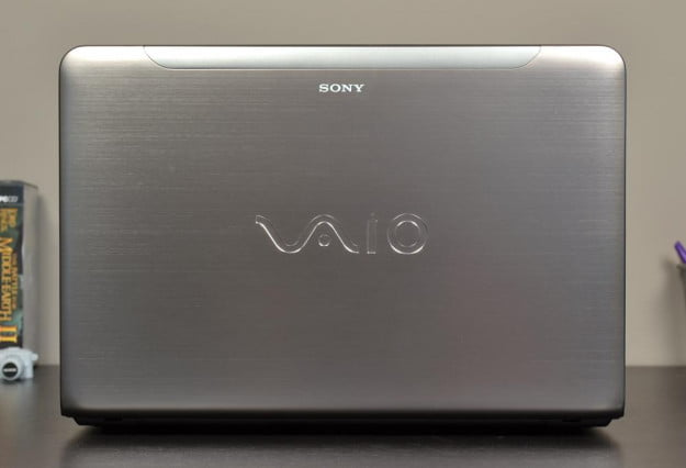 Sony Vaio E Series Review laptop lid up